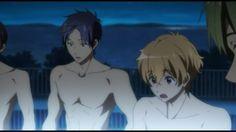 Haru,  Rei,  Nagisa, and Makoto