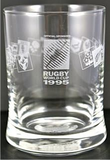 1995 Rugby World Cup Glass £10