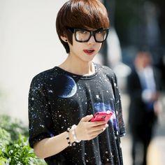 Park Hyung Seok rocking a galaxy shirt