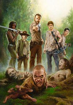 #Walking Dead fan art
