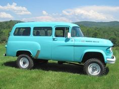 1963 Dodge Town Wagon Power Wagon