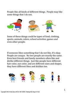 Sample Page From: KID CODES: Helping Kids Figure It Out. Perspective Taking Social Story. This social story is intended to teach children the challenging perspective. Teaching Social Skills, Teaching Kids, Creative Teaching, Well Trained Mind, Perspective Taking, Social Challenges, Sight Words List, Special Needs Students, Coding For Kids