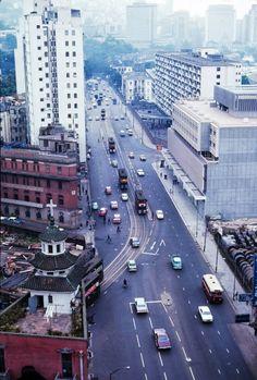 HK island 60's - Hennessy Road x Johnston Road, Wan Chai