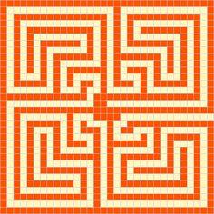 roman mosaic templates for kids - examples of roman maze mosaics click make a roman