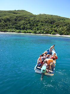 paradise  naviti island, fiji  soso village