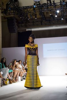 Special Events : Africa Fashion Week, Designer Sarfo of Styles African Dresses For Women, African Attire, African Fashion Dresses, African Women, Nigerian Fashion, Ghana Fashion, Africa Fashion, Women's Fashion, African Inspired Fashion