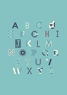 Typographie by Emma Rousseau