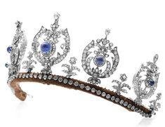 The Princess Thyra Sapphire Tiara