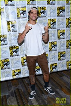 Tyler Posey at the San Diego Comic-Con 2016