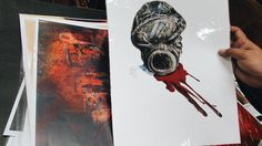 """Así cerrábamos el 24/10 la exposición """"Semillas"""" (Derechos Humanos Ilustrados por Andrés Casciani) en el Nuevo Buffet de los Estudiantes (Edificio de Gobierno de la FAD - UNC)  *Nos acompañó musicalmente el dúo """"Habrá Sol"""" - organizado por AgrupArte Centro de Estudiantes - siempre apoyando las causas humanitarias."""