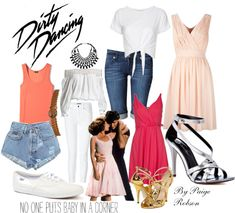 """""""Dirty Dancing: Baby"""" by paige-robson ❤ liked on Polyvore Dirty Dancing Costume, Dirty Dancing Party, Dancing Baby, Dance Costumes, Dance Outfits, Dance Dresses, Baby Outfits, Disney Outfits, School Outfits"""