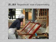 Washi Papermaking , Awagami and Art: A slideshow