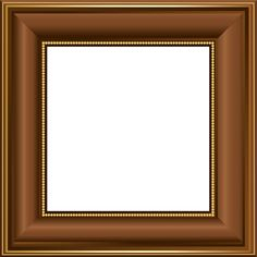 brown transparent photo frame