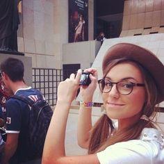 CutiePie Marzia Marzia Bisognin-- want her glasses!