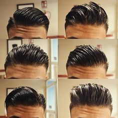 "Gefällt 1,874 Mal, 63 Kommentare - REGAL GENTLEMAN (@regalgentleman) auf Instagram: ""1 haircut. 6 different styles. Which one would you go for?"""