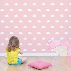 Papel Pintado Nubes Blancas Cloud Texture, Kids Bedroom, Bedroom Decor, Kidsroom, Kids Decor, Children Photography, Playroom, Kids Toys, Baby Gifts