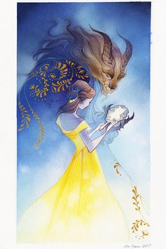 Beauty and the Beast, by Alison Strom