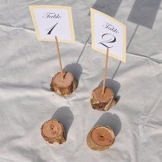 Détenteurs numéros de Table en bois par Stringybarksupplies sur Etsy