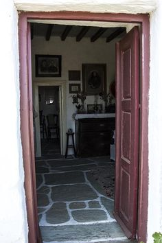 "The Folk Museum in Folegandros, is a quaint museum. In fact is a representative sample of a traditional farm of the century, called ""themonia"" by the. Greeks, Greek Islands, Folk, Garage Doors, Museum, Country, Outdoor Decor, Home Decor, Greek Isles"