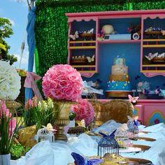 Cinderella Birthday #Cinderella2015 #ButterflyGarden #bambinisoiree