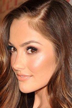 Minka Kelly makeup