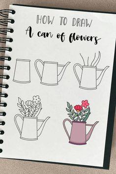 Creating A Bullet Journal, Bullet Journal Layout, Fruit Doodle, Travel Doodles, Little Doodles, Paper Plane, Flower Doodles, Enjoying The Sun, Bullet Journal