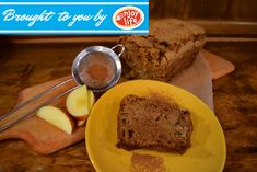 Cinnamon-Spiced Apple Bread | Enjoy Life Foods-Gluten free, vegan.