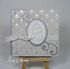 A Mia Bella Wedding Gift Card Holder By Raven Cards And Paper Crafts At Splitcoaststampers