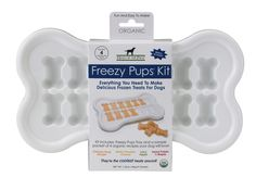 Awesome idea...can fill with chicken broth etc for a cool treat for your pup!