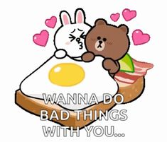 The perfect Brown Cony Bear Animated GIF for your conversation. Discover and Share the best GIFs on Tenor. Cute Cartoon Pictures, Cute Love Cartoons, Animated Emojis, Cute Girlfriend Quotes, Cute Couple Gifts, Cute Bear Drawings, Bunny And Bear, Good Morning Love, Cute Funny Quotes