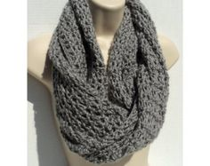 """PLEASE NOTE: THIS IS A PATTERN, NOT THE ACTUAL ITEM! There are no refunds for .pdf files. This is a 7 page pdf file with instructions to make this pretty Super Bulky (6) weight neck scarf with button closure. This is a one skein project so it a great project to use up some of your stash yarn. It is also quick to work up and always looks beautiful. Dimensions: 6"""" wide by 29"""" long    Skill Level: Advanced Beginner/ Intermediate    There are two special stitches in this pattern. One is the Rib…"""