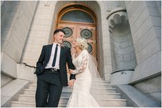 Salt Lake Temple, Utah Wedding – Ashlee Brooke Photography