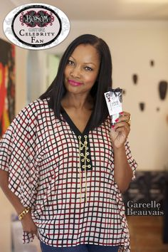 Garcelle Beauvais from the Jamie Foxx show is a fan of Bosom Couture Boob Glue. www.bosomcouture.com