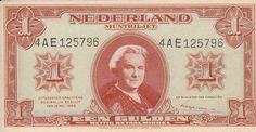 Netherlands 1 Gulden 1945