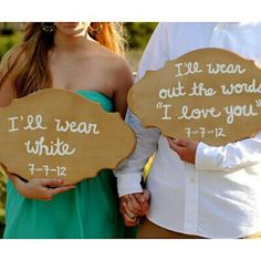Wedding saying for vintage wedding:  I'll wear white ...  For ideas and goods shop at Estate ReSale & ReDesign, Bonita Springs, FL