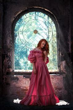 Sleeping Beauty. Castle. Photographer: Tatiana Chernikova. Model: Valeria Moskovchenko Sleeping Beauty Princess, Shoulder Dress, Dresses With Sleeves, Anime, Formal Dresses, Long Sleeve, Model, Castle, Fashion