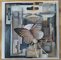 #mixedmedia #scrapbooking #cards #butterfly #handmade