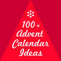 100+ homemade advent calendar ideas at The Crafty Crow...I've never had one, even as a kid, I would love to make one with my girlies.