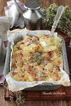 Patate dell'osteria, ricetta facile e sfiziosa