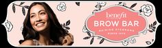 Benefit Brow Bars - raising eyebrows since 1976. They also do eyeleashes