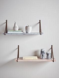 Handcrafted Marble Shelves