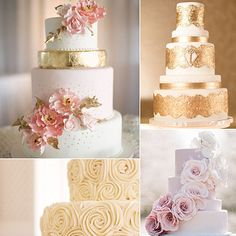 Get ready, because you'll want to bookmark all of these classic wedding cakes. While so many today come in all different shapes and styles, we're loving timeless cakes that you'll want to bite into even when looking at pictures of your big day years from now. We're talking cascading flowers, ruffles, lace, and more dainty details. Ahead, check out the sweet stunners.