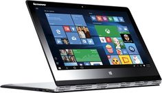"Lenovo - Yoga 3 Pro 2-in-1 13.3"" Touch-Screen Laptop - Intel Core M - 8GB Memory - 256GB Solid State Drive - Silver"