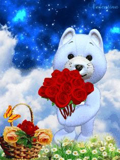 1 million+ Stunning Free Images to Use Anywhere Teddy Bear Cartoon, Cute Teddy Bears, Love You Images, Free To Use Images, Beautiful Rose Flowers, Beautiful Gif, Bear Gif, Happy Valentines Day Images, Bear Valentines