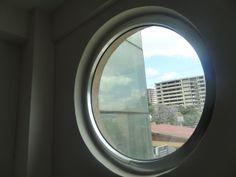 Contemplating Window...Addis