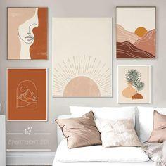 Diy Canvas Art, Canvas Wall Art, Wall Art Prints, Canvas Prints, Canvas Painting Landscape, Abstract Landscape, Canvas Paintings, Tableau Design, Wall Art Decor