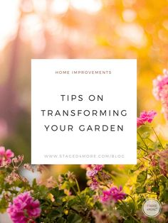 A well kept garden can help the appearance of your home and is beautiful to look at after the long winter months. Visit Staged4more for simple ways you can take care of your garden and show off when people pass by on the street! #gardening #plants