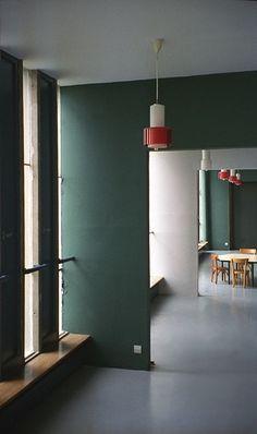 Unite d'Habitation, Firminy, France, by Le Corbusier in 1954-67