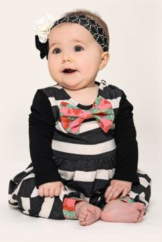 Fall 2104 Persnickety Eloise Romper  Newborn to 12 Months at www.cassiesclosetinc.com