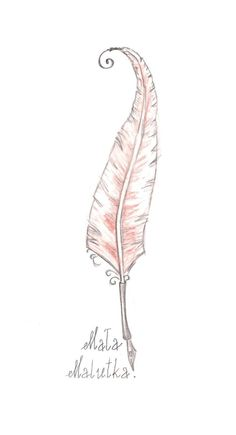 Whispy feather